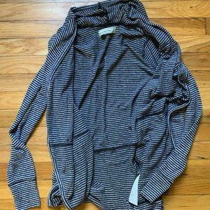 Abercrombie Striped Soft Cardigan